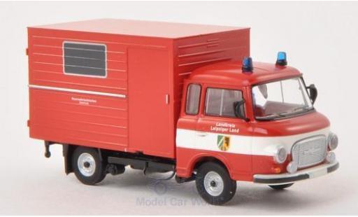 Barkas B 1000 1/87 Brekina Koffer Feuerwehr Leipziger Land miniature