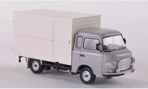 Barkas B 1000 1/87 Brekina Koffer grise miniature