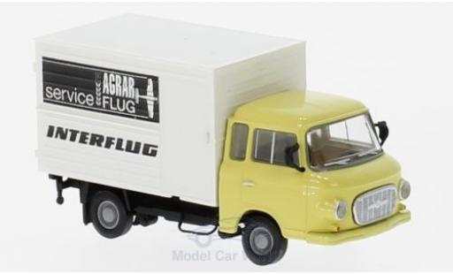 Barkas B1000 1/87 Brekina Koffer Interflug Agrarservice miniature
