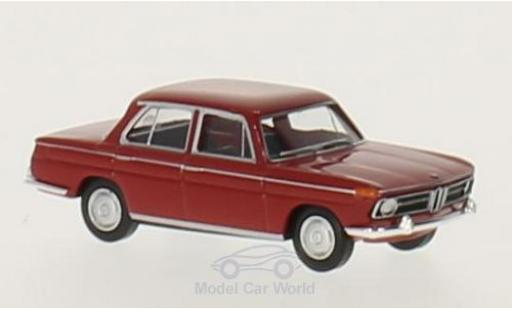 Bmw 1800 1/87 Brekina red diecast model cars