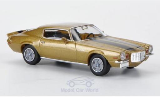 Chevrolet Camaro 1/87 Brekina Z 28 gold mit noireen Streifen miniature