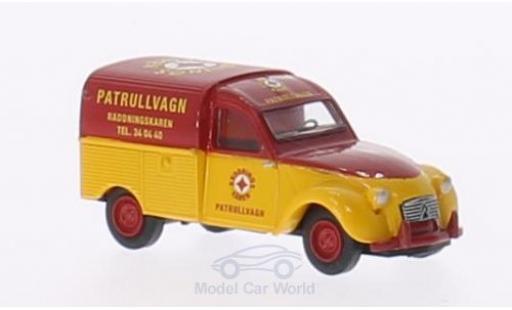 Citroen 2CV 1/87 Brekina AZU Patrullvagn (S) miniature