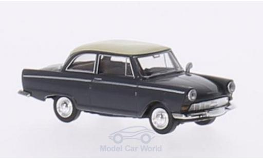 DKW Junior 1/87 Brekina grise/beige miniature