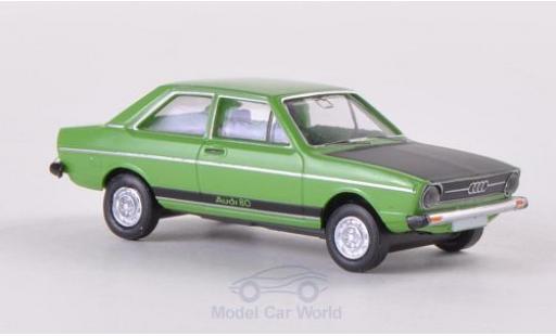 Audi 80 1/87 Brekina GT verte/matt-noire miniature