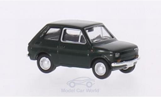 Fiat 126 1/87 Brekina Drummer green diecast