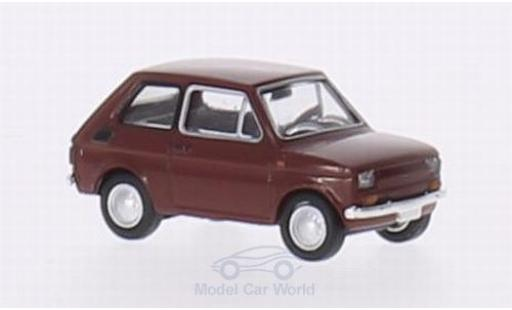 Fiat 126 1/87 Brekina Drummer rouge miniature