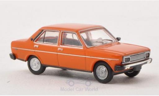 Fiat 131 1/87 Brekina Drummer Mirafiori orange Ausführung mit Rechteckscheinwerfern diecast