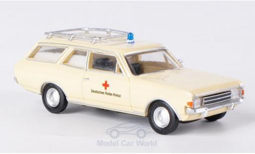 Opel Rekord 1/87 Brekina Drummer C Caravan DRK miniature