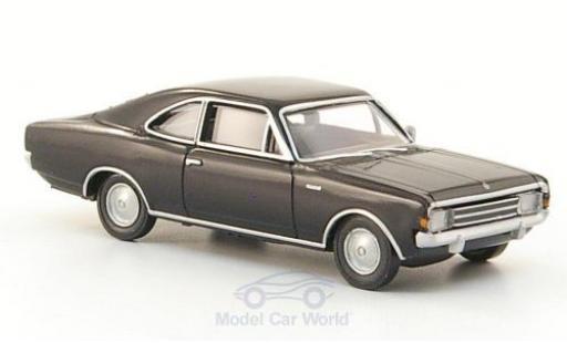 Opel Rekord 1/87 Brekina C Coupe noire miniature