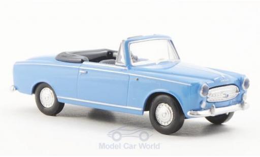 Peugeot 403 1/87 Brekina Cabriolet bleue miniature