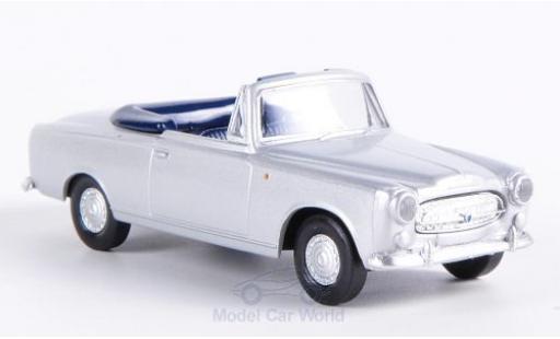 Peugeot 403 1/87 Brekina Cabriolet grise miniature