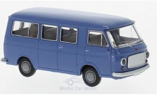 Fiat 238 1/87 Brekina Bus blue diecast model cars
