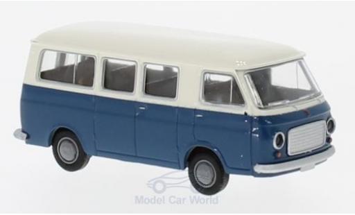 Fiat 238 1/87 Brekina Bus white/blue diecast