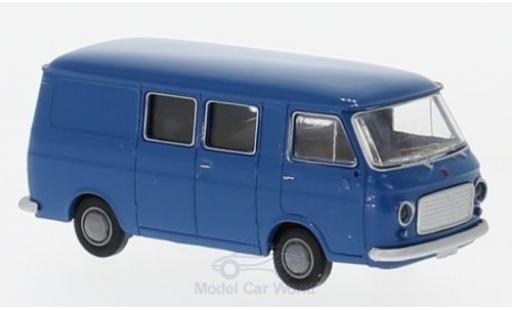 Fiat 238 1/87 Brekina Halbbus blue diecast model cars