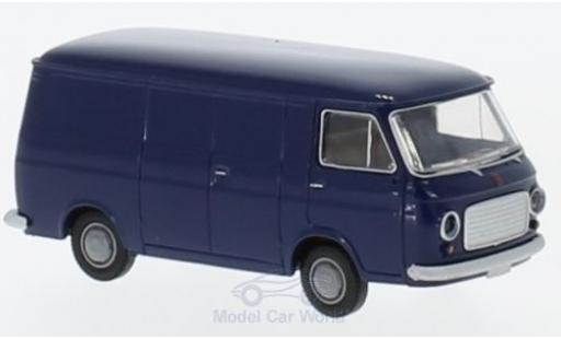 Fiat 238 1/87 Brekina Kasten blue diecast model cars