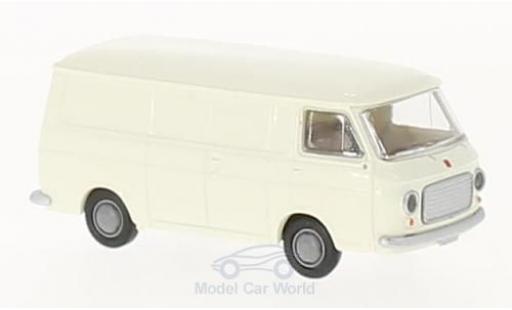 Fiat 238 1/87 Brekina Kastenwagen white diecast