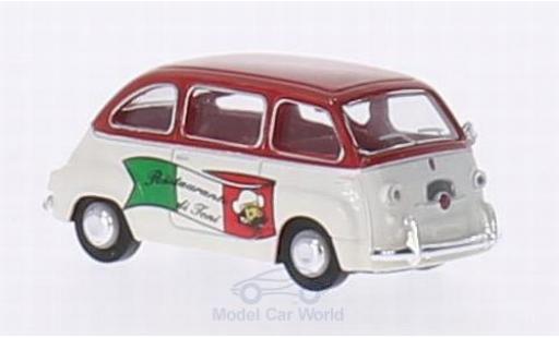 Fiat Multipla 1/87 Brekina Ristorante di Toni diecast