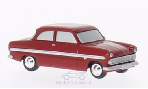 Ford 12M 1/87 Brekina 12m red Die Halbstarken diecast model cars