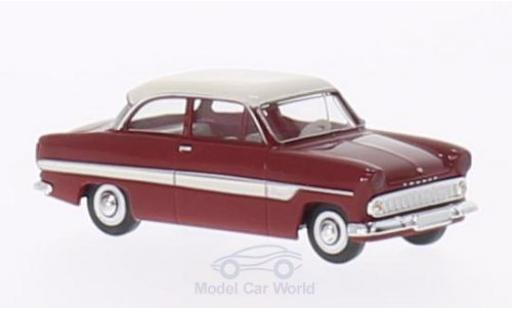 Ford 12M 1/87 Brekina 12m red/white diecast