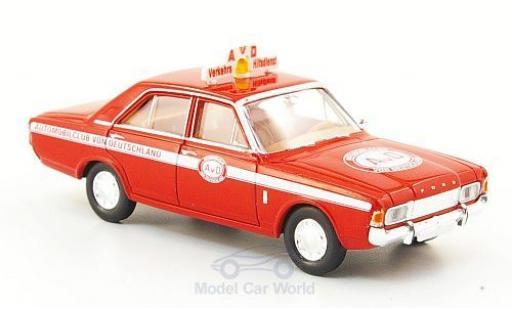 Ford 17M 1/87 Brekina 17m (P7b) AVD Verkehrs Hilfsdienst miniature
