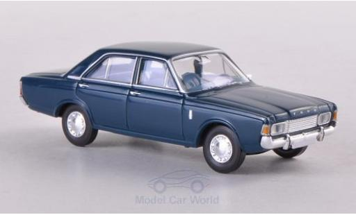 Ford 17M 1/87 Brekina 17m (P7b) bleue miniature