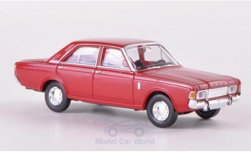 Ford 17M 1/87 Brekina 17m (P7b) rouge miniature