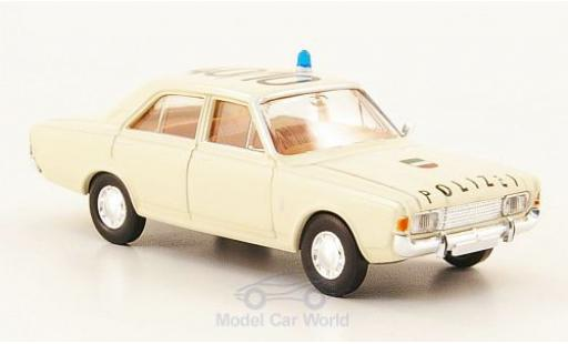 Ford 17M 1/87 Brekina 17m (P7b) Polizei Autobahnpolizei Köln miniature