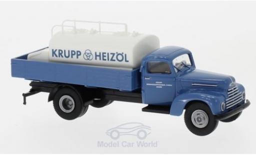 Ford FK 1/87 Brekina 3500 Krupp Heizöl mit Aufsatz-Tank diecast
