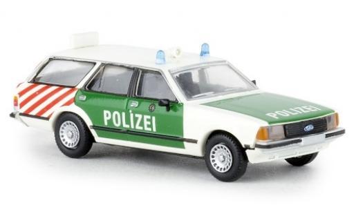 Ford Granada 1/87 Brekina II Turnier Autobahnpolizei Berlin 1977 diecast model cars
