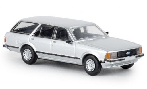Ford Granada 1/87 Brekina II Turnier metallise grise 1977 TD miniature