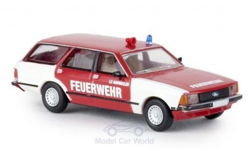 Ford Granada 1/87 Brekina MKII Turnier Feuerwehr Ahrweiler miniature