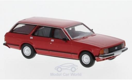 Ford Granada 1/87 Brekina MKII Turnier red 1978 diecast model cars