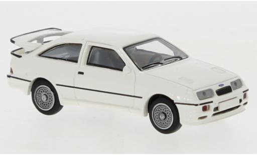 Ford Sierra 1/87 Brekina RS 500 Cosworth blanche 1986 miniature