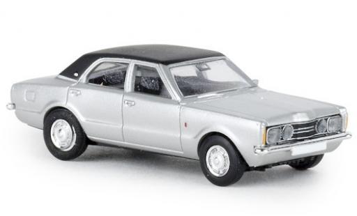 Ford Taunus 1/87 Brekina GXL grise/noire 1972 miniature