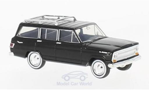 Jeep Wagoneer 1/87 Brekina noire miniature