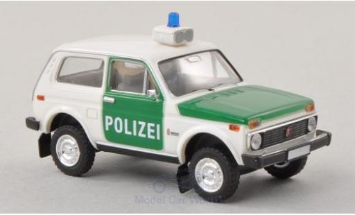 Lada Niva 1/87 Brekina Polizei diecast