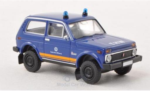Lada Niva 1/87 Brekina THW miniature