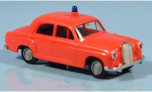 Mercedes 180 1/87 Brekina Ponton Feuerwehr ohne Vitrine miniature