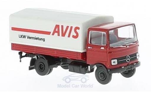 Mercedes LP 608 1/87 Brekina Avis Pritsche mit Plane miniature