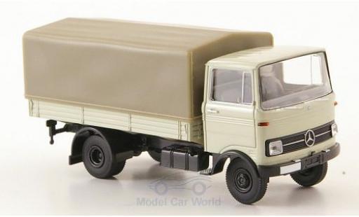 Mercedes LP 608 1/87 Brekina PP-LKW grise miniature