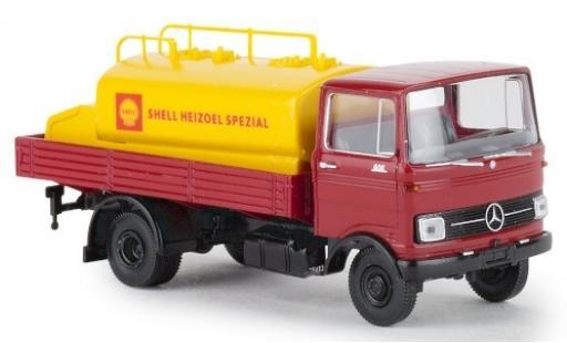 Mercedes LP 608 1/87 Brekina Pritsche S 1966 mit Aufsatz-Tank miniature