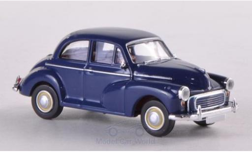 Morris Minor 1/87 Brekina dunkelblue diecast