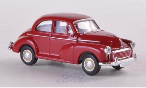 Morris Minor 1/87 Brekina rouge miniature