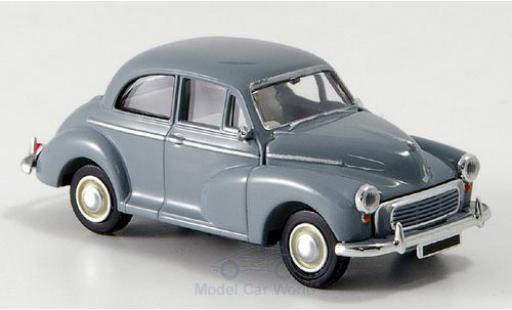 Morris Minor 1/87 Brekina grise miniature