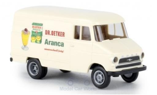 Opel Blitz 1/87 Brekina A Kasten Dr. Oetker Aranca miniature