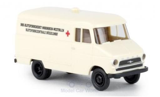 Opel Blitz 1/87 Brekina A Kasten DRK NRW miniature