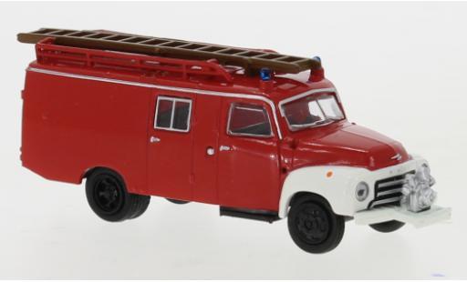 Opel Blitz 1/87 Brekina LF 8 rouge/blanche 1952 miniature