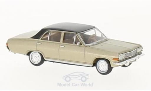 Opel Diplomat 1/87 Brekina A V8 metallic-beige/black diecast