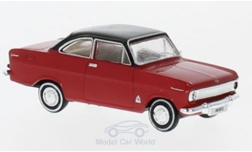 Opel Kadett E 1/87 Brekina A Coupe rouge/noire aus der Schweiz miniature