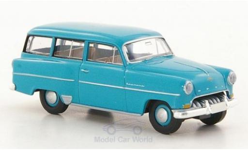 Opel Olympia 1/87 Brekina Rekord Caravan turquoise